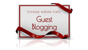Guest blogging builds SEO and backlinks