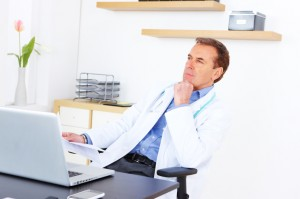 How does a doctor avoid writer's block.  Several tips on subject matter for a medical blogger.
